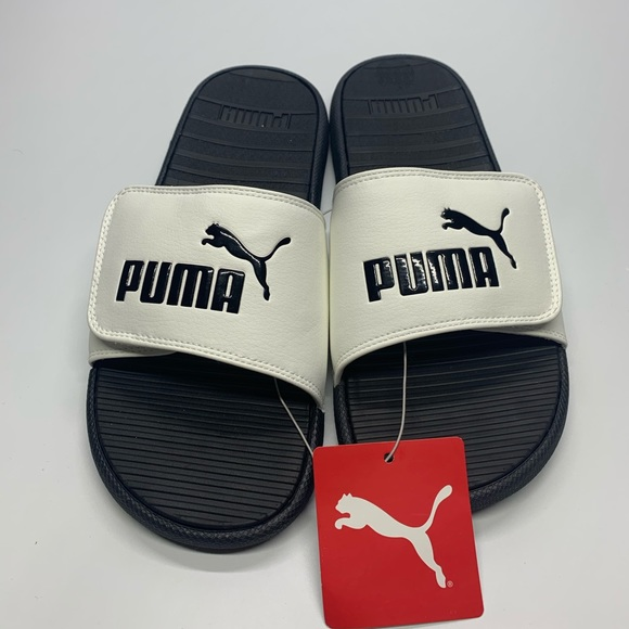 Puma Shoes   New Mens Whiteblack Velcro